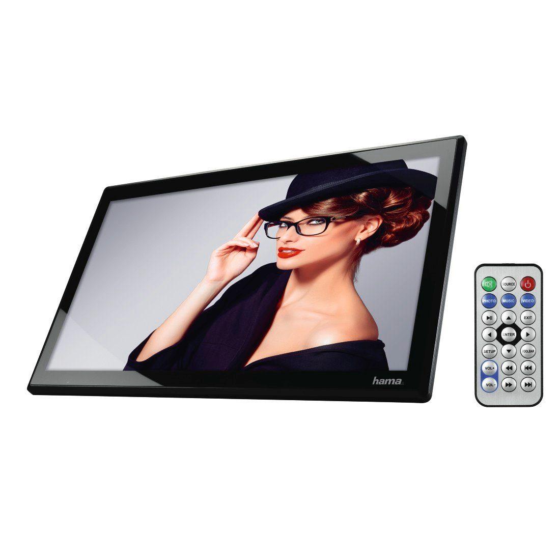 Hama Digitaler Bilderrahmen Full HD, 43,94 cm (17,3 Zoll) »8 GB int. Speicher USB HDMI MP«