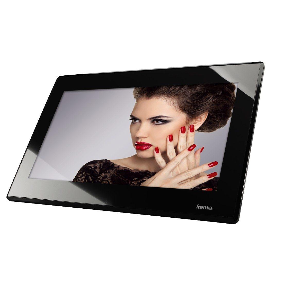 Hama Digitaler Bilderrahmen Full HD, 39,6 cm (15,6 Zoll) »4 GB int. Speicher USB HDMI MP3 SD«