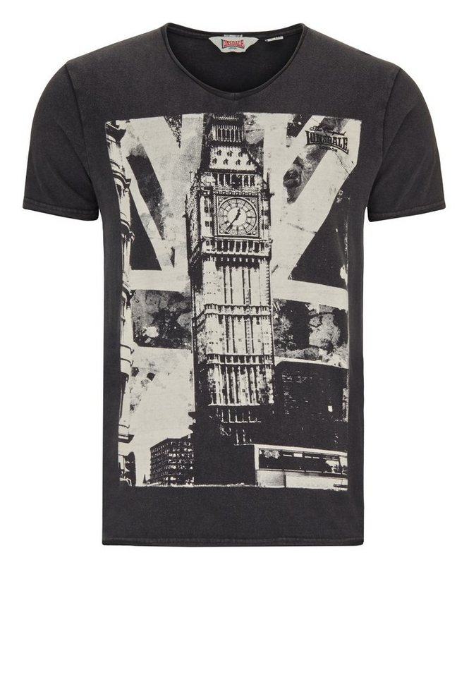 Lonsdale T-Shirt »STORRINGTON« in Black