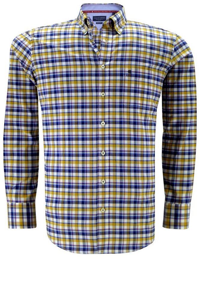 Casamoda Oberhemd in Gelb