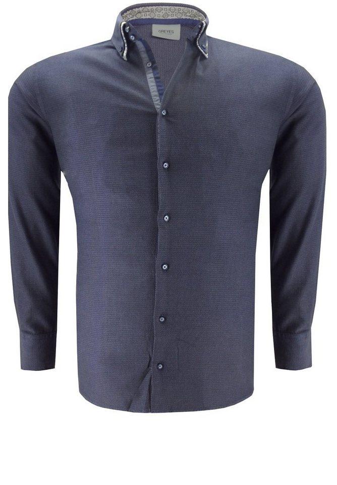 greyes Greyes Oberhemd in Anthrazit