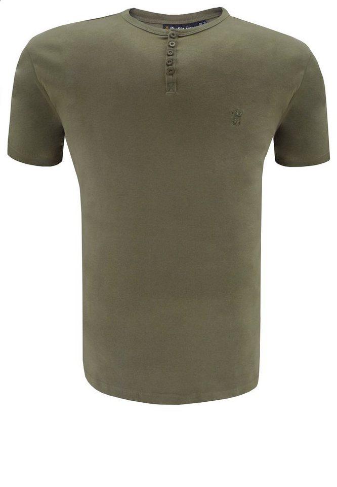 replika T-Shirt in Grün
