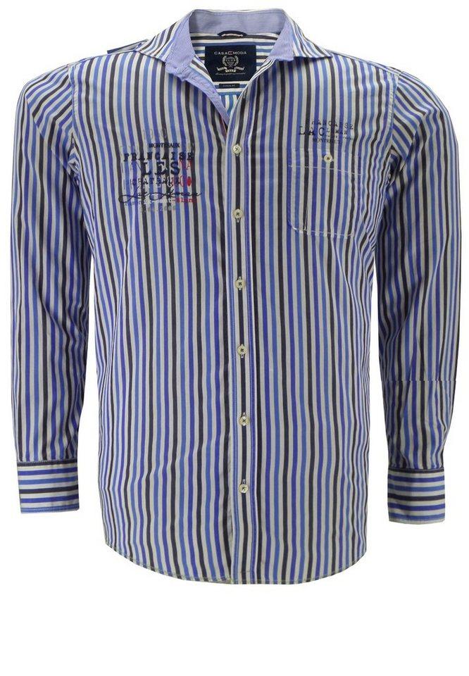 Casamoda Langarmhemd in Blau