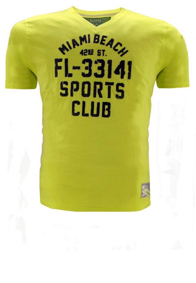 kitaro T-Shirt in Gelb