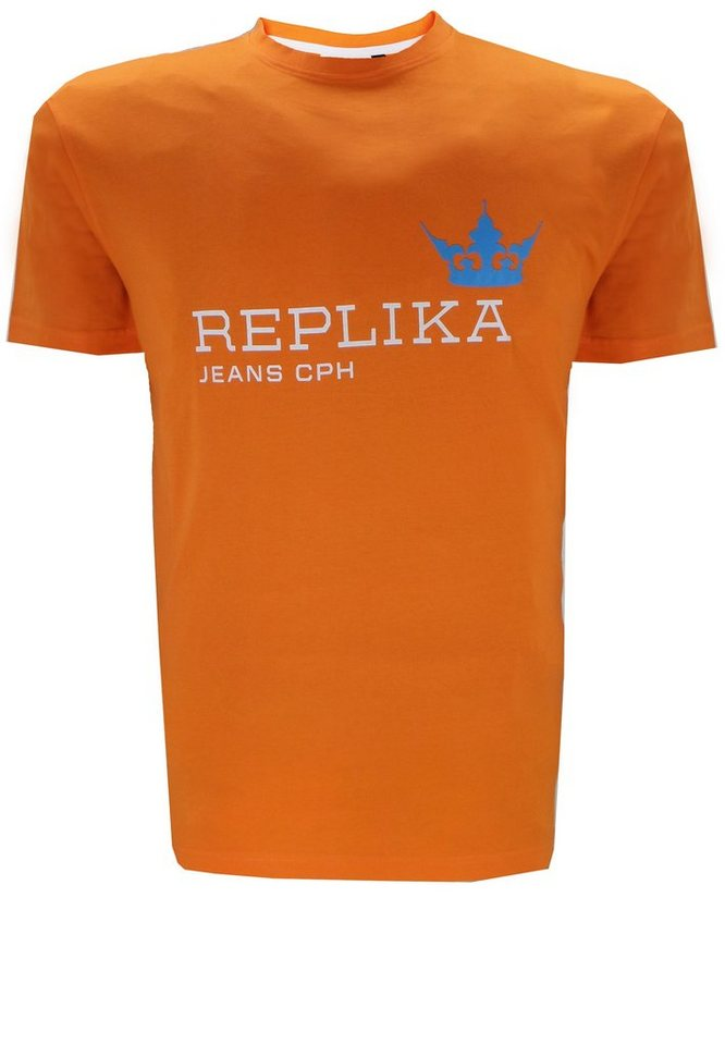 replika T-Shirt in Orange