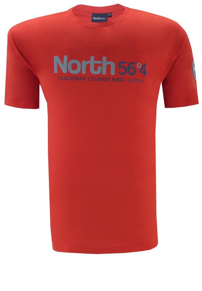 north 56 4 T-Shirt in Rot
