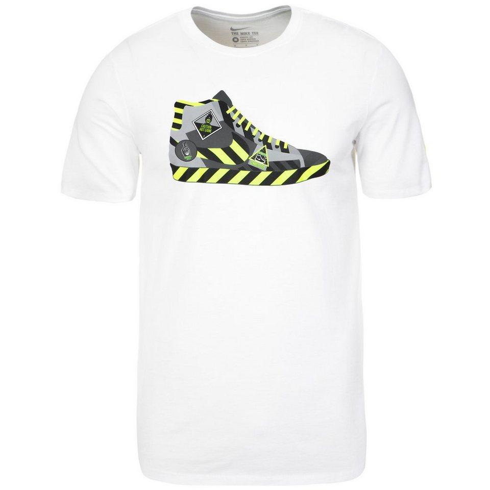 NIKE Hazard Trainingsshirt Herren in weiß / gelb