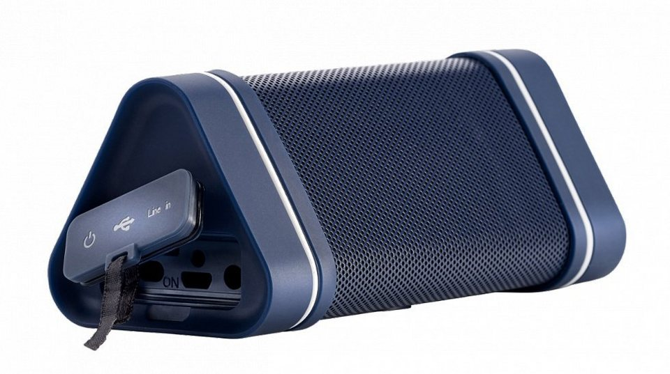 HERCULES Soundsystem Wireless Audio Experience WAE Outdoor 04 Plus Blau »(PC Tablet/Smartphone)«