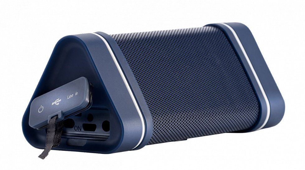 HERCULES Soundsystem Wireless Audio Experience WAE Outdoor 04 Plus Blau »PC Tablet/Smartphone«