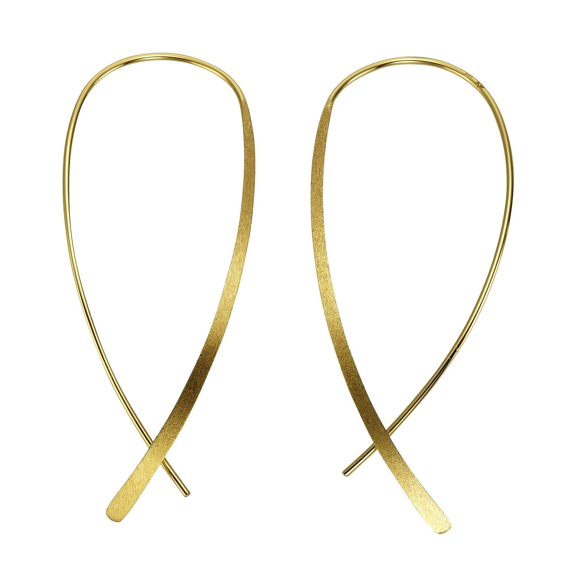CELESTA Ohrhänger »925/- Sterling Silber gelbvergoldet«