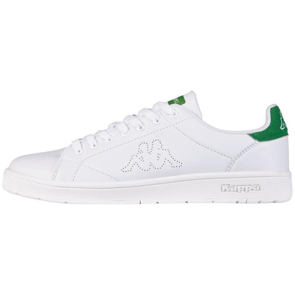 KAPPA Sneaker »COURT« in white/green