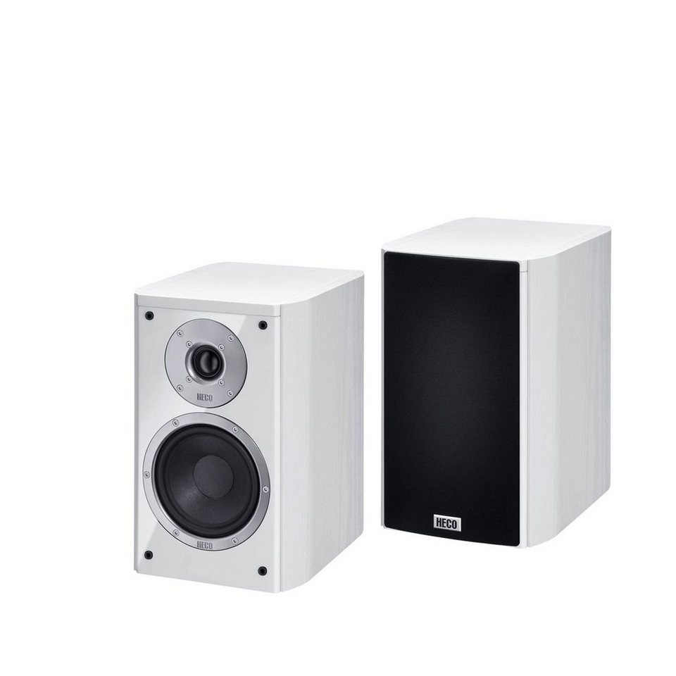 Heco Music Style 200, Regallautsprecher, 1 Paar in Weiß