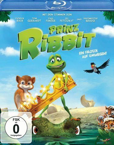 Blu-ray »Prinz Ribbit - Ein Frosch auf Umwegen!«