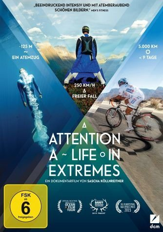 DVD »Attention: A Life in Extremes«