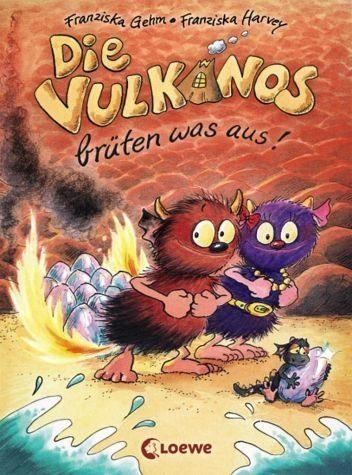 Gebundenes Buch »Die Vulkanos brüten was aus! / Vulkanos Bd.4«