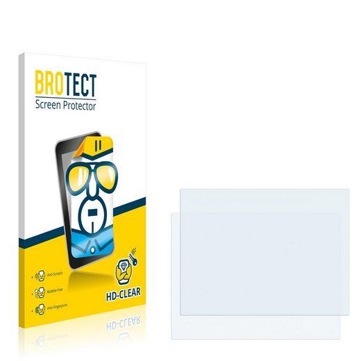 BROTECT Schutzfolie »für Panasonic Toughbook CF-30«, (2 Stück), Folie Schutzfolie klar