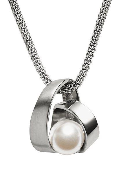 Skagen Halskette, »Agnethe, SKJ0749040« in silberfarben/weiß
