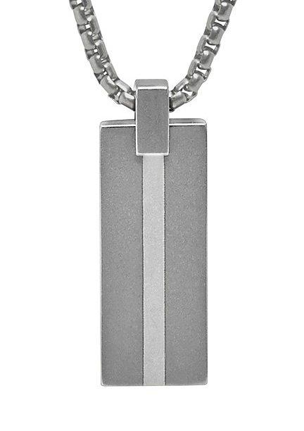 Skagen Halskette, »Leif, SKJM0051064« in Edelstahl/Titan/Silber 925