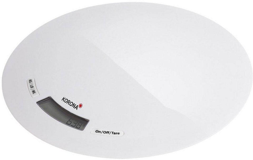 Korona, Küchenwaage, Ronda 70221 in weiß