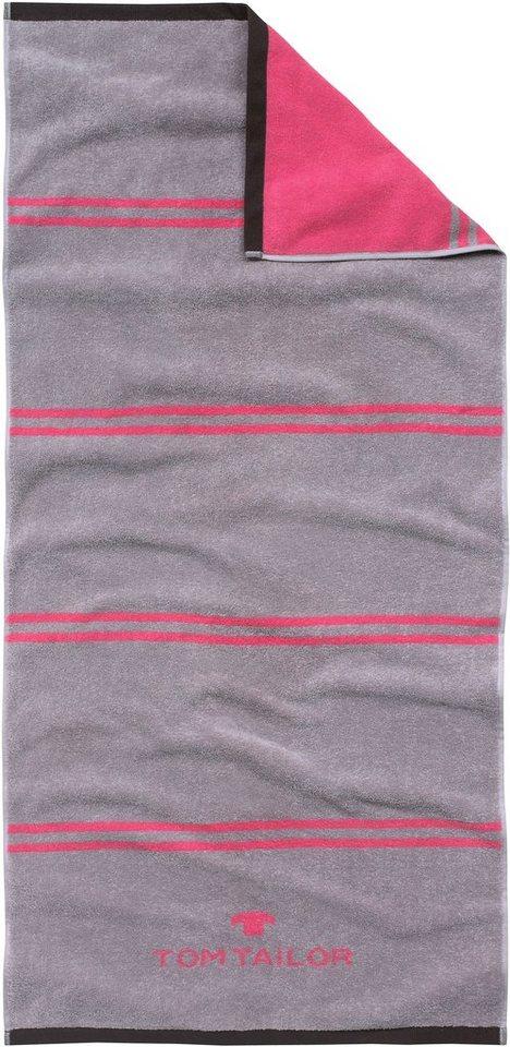 badetuch tom tailor sport tuch mit jaquard logo online kaufen otto. Black Bedroom Furniture Sets. Home Design Ideas