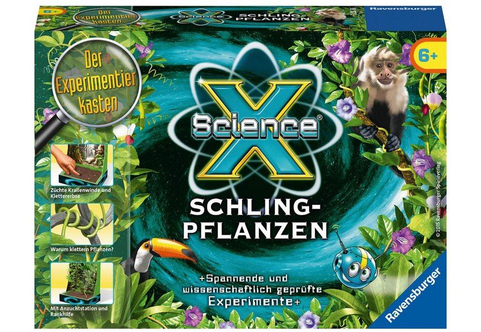 Ravensburger Experimentier-Set, »SienceX® - Schlingpflanzen«