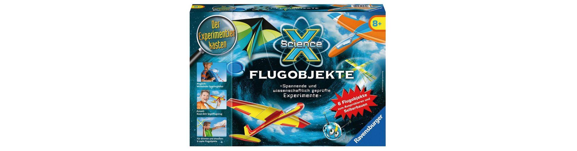 Ravensburger Experimentier-Set, »SienceX® - Flugobjekte«