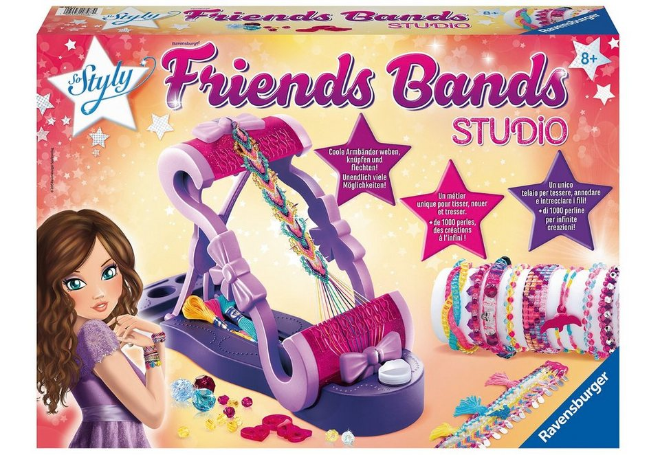 Ravensburger Bastel-Set, »So Styly - Friends Bands Studio«