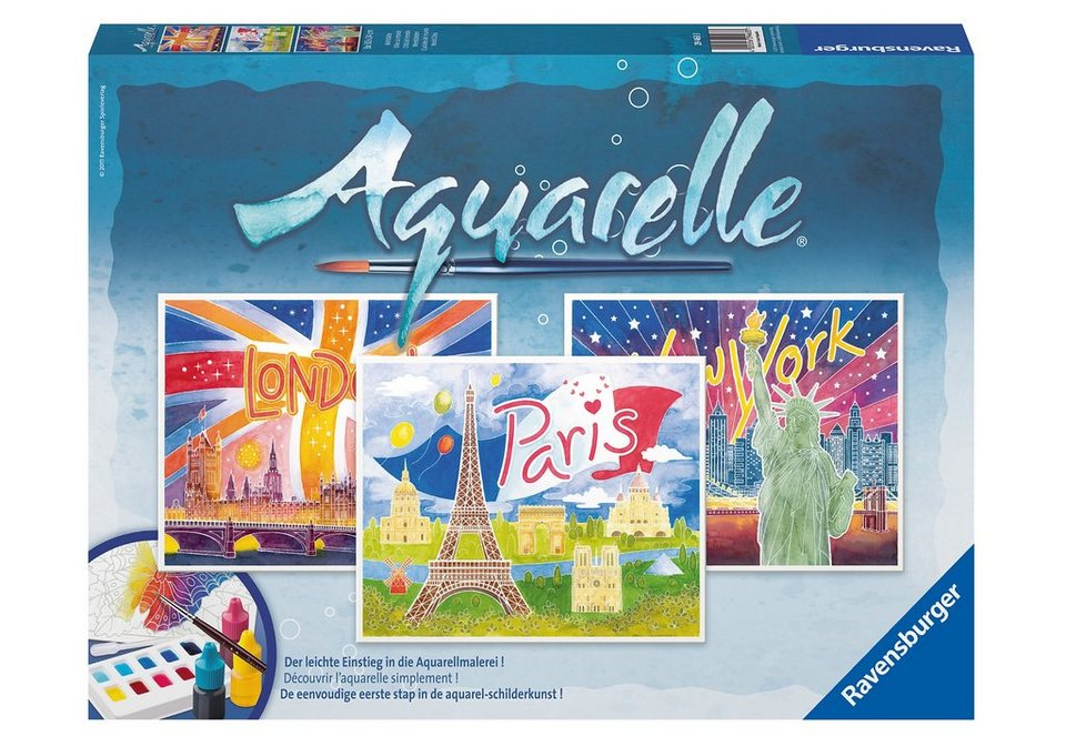 Ravensburger Aquarelle Maxi, »Weltstädte«