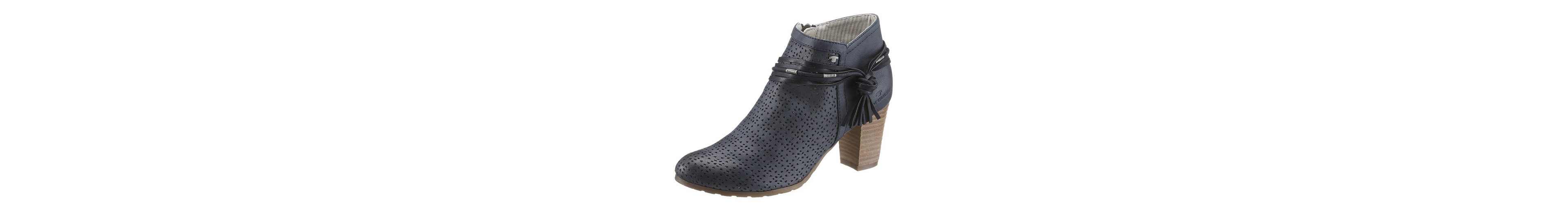 Tom Tailor Stiefelette, mit Perforation