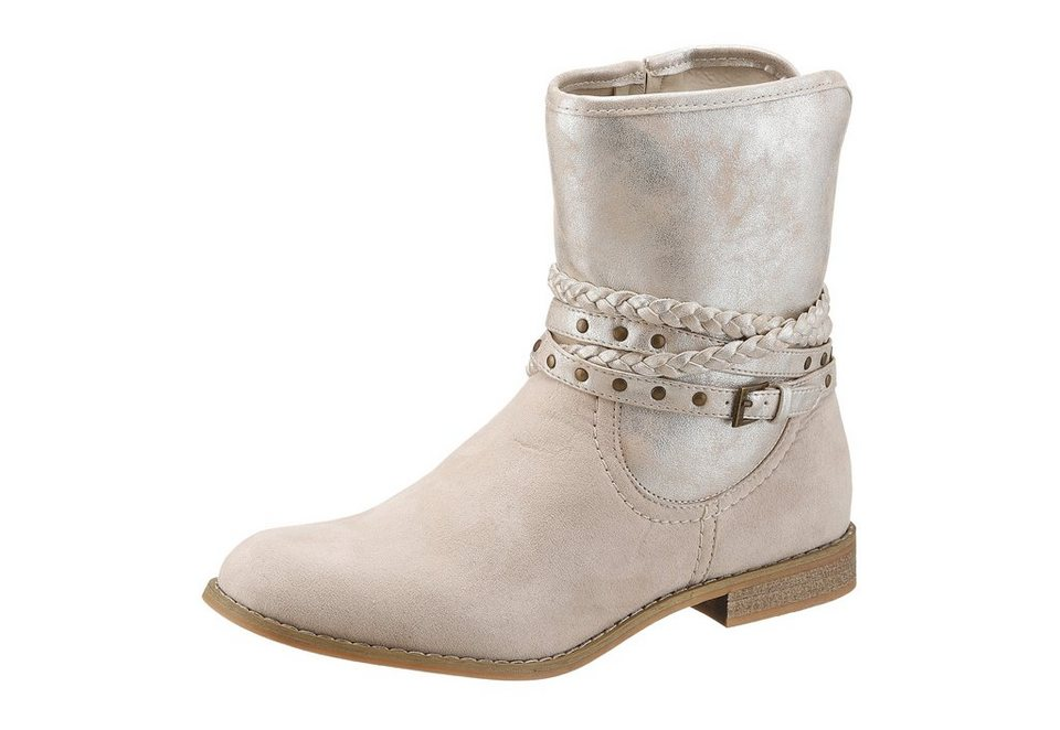City Walk Stiefelette in beige