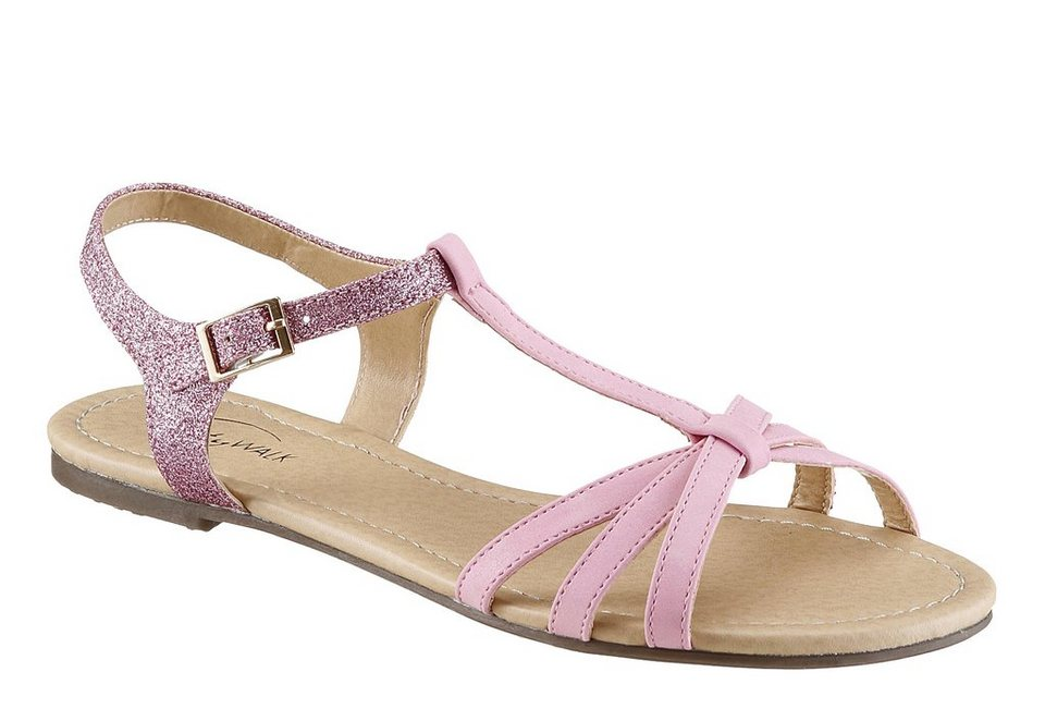 City Walk Sandale in rosa