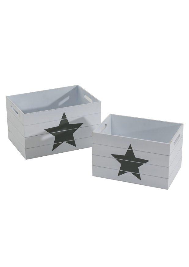 Set: Aufbewahrungsboxen (2tlg.)