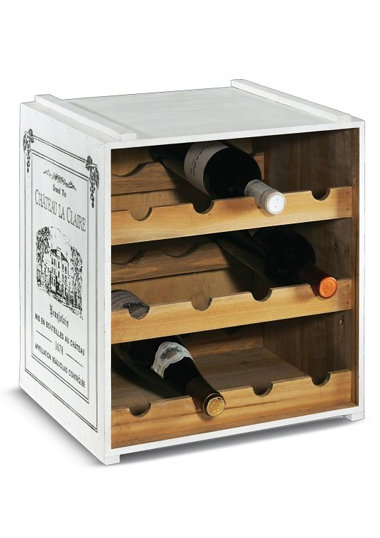 Weinregal online kaufen otto for Weinregal rustikal