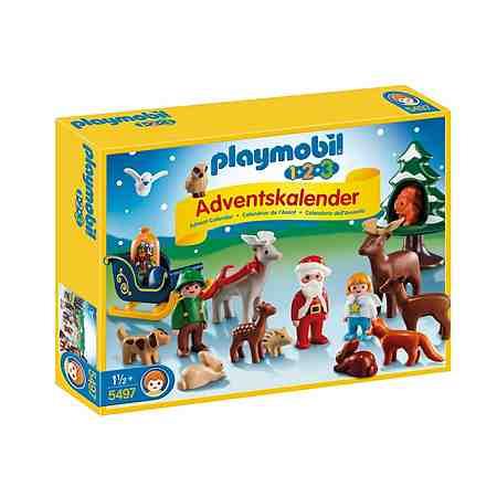 Playmobil® 1.2.3 Adventskalender »Waldweihnacht« (5497), Playmobil 123