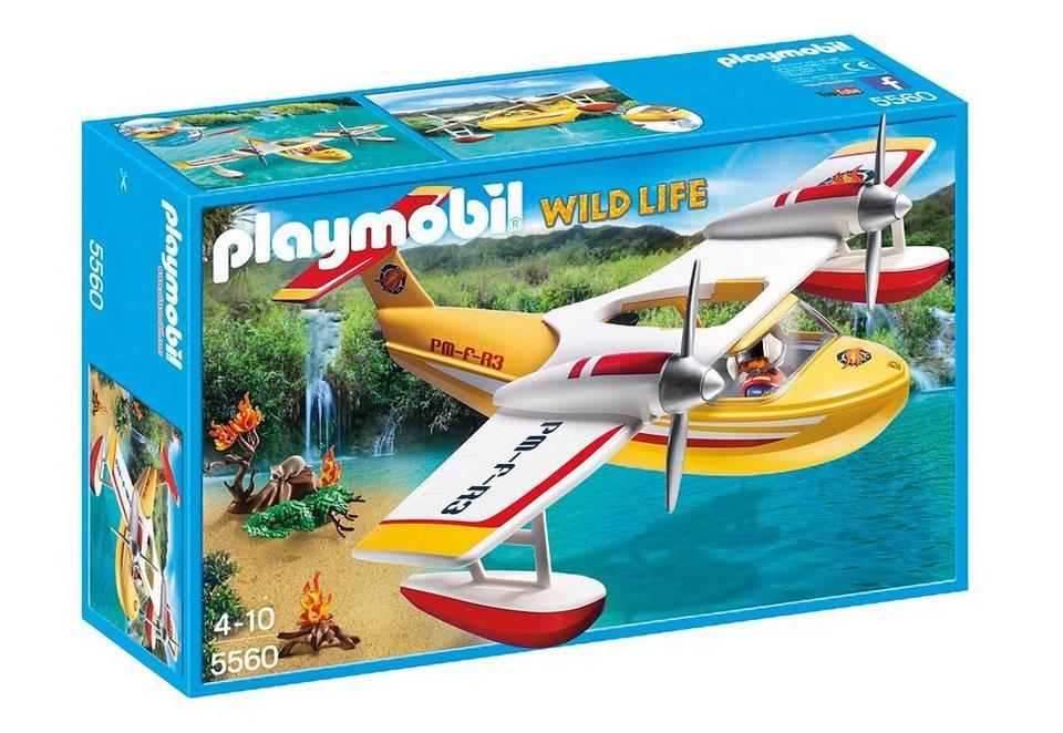 Playmobil® Löschflugzeug (5560), Wild Life