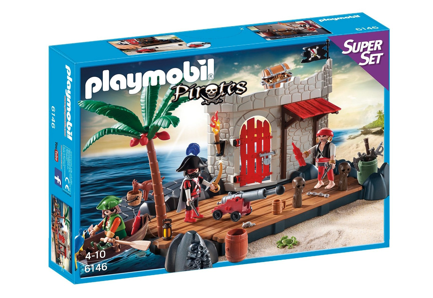 Playmobil® SuperSet Piratenfestung (6146), Pirates