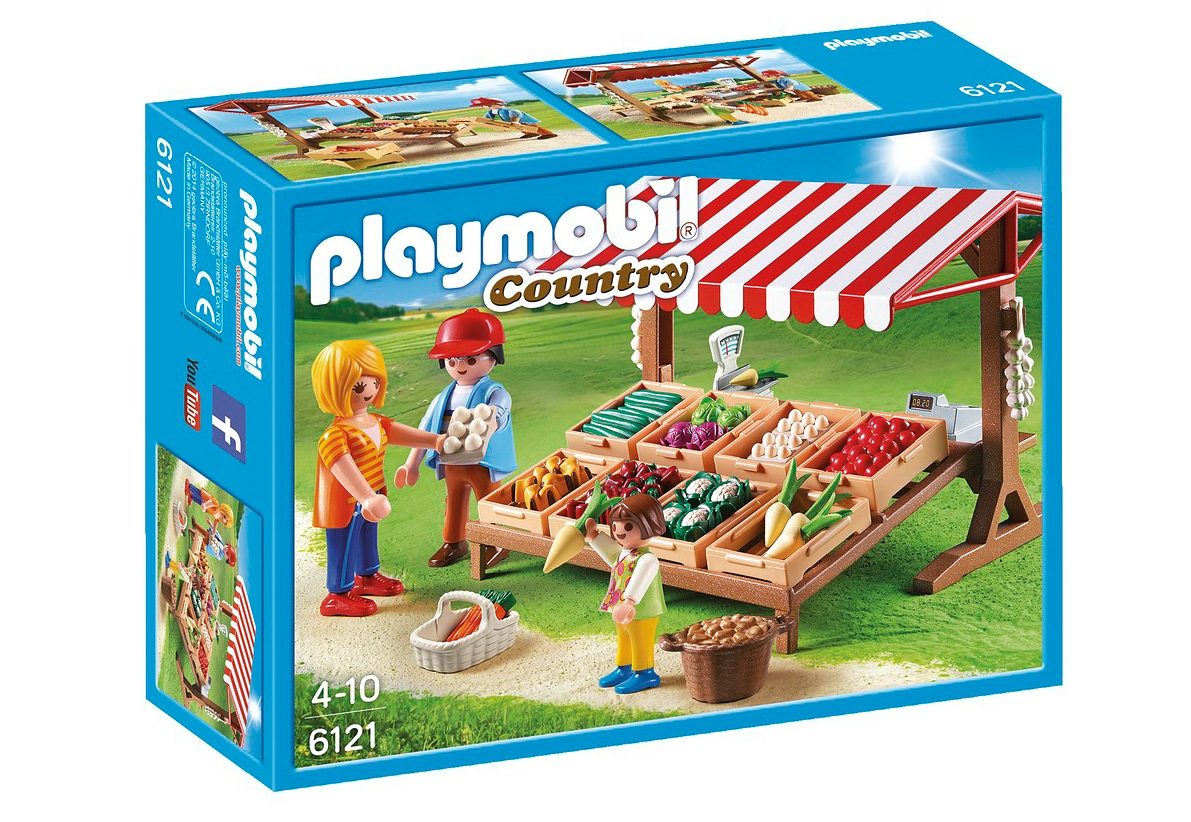 Playmobil® Gemüsestand (6121), Country