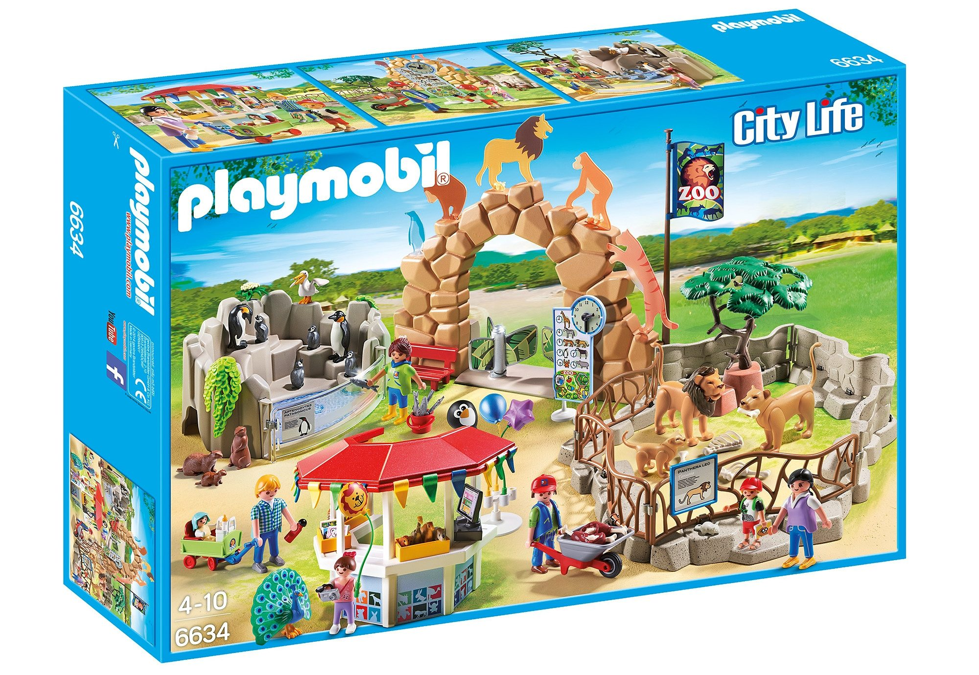 Playmobil® Mein großer Zoo (6634), City Life