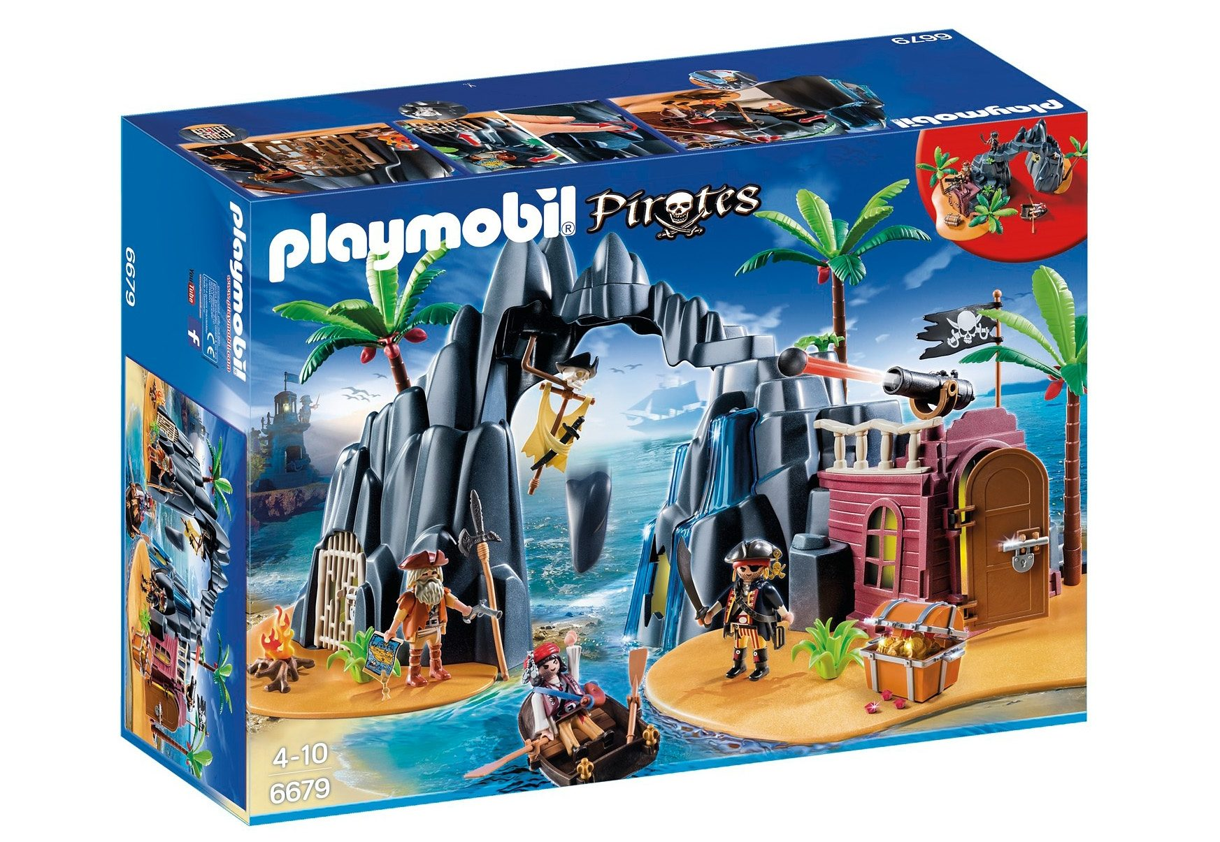 Playmobil® Piraten-Schatzinsel (6679), Pirates