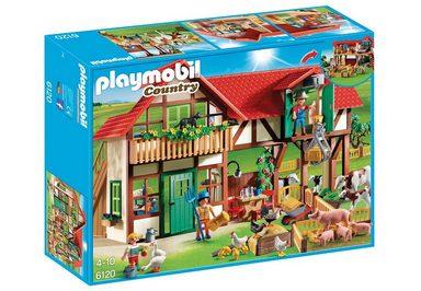 Playmobil® Konstruktionsspielsteine »Großer Bauernhof (6120), Country«