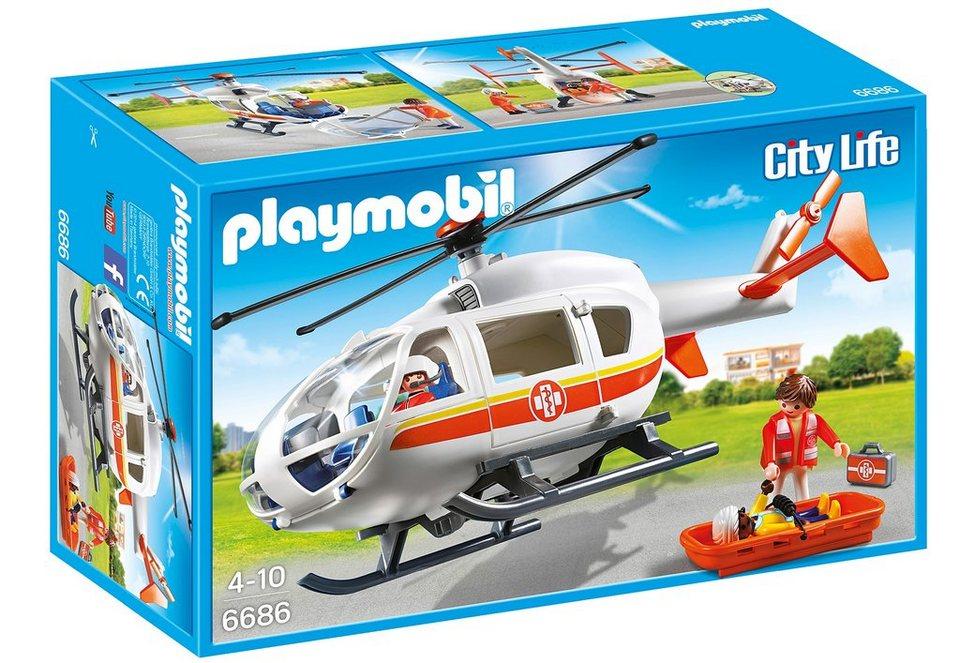 Playmobil® Rettungshelikopter (6686), City Life