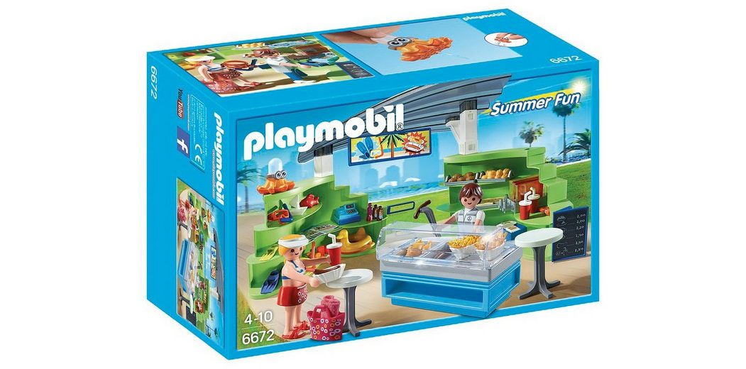 Playmobil® Shop mit Imbiss (6672), Summer Fun