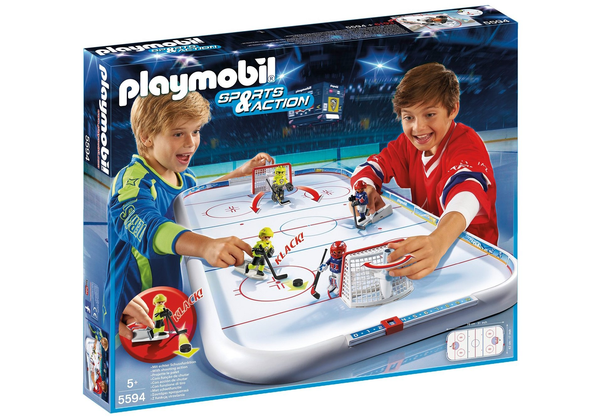Playmobil® Eishockey-Arena (5594), Sports & Action