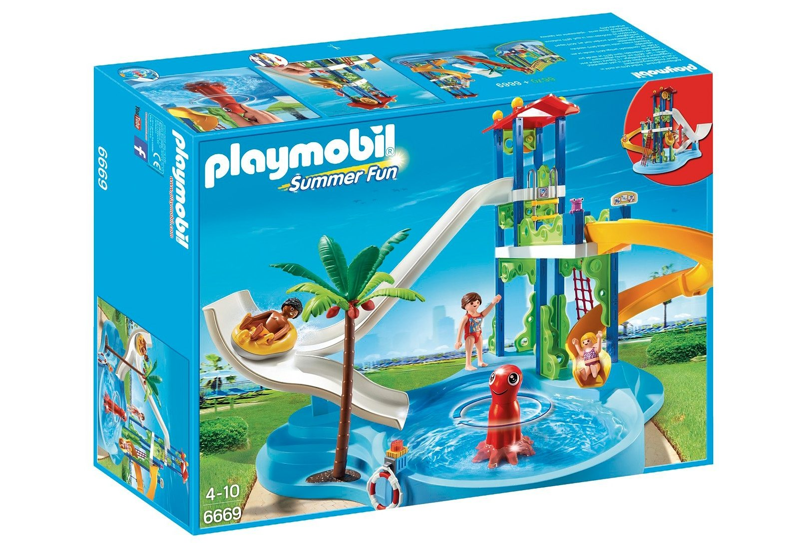 Playmobil® Aquapark mit Rutschentower (6669), Summer Fun