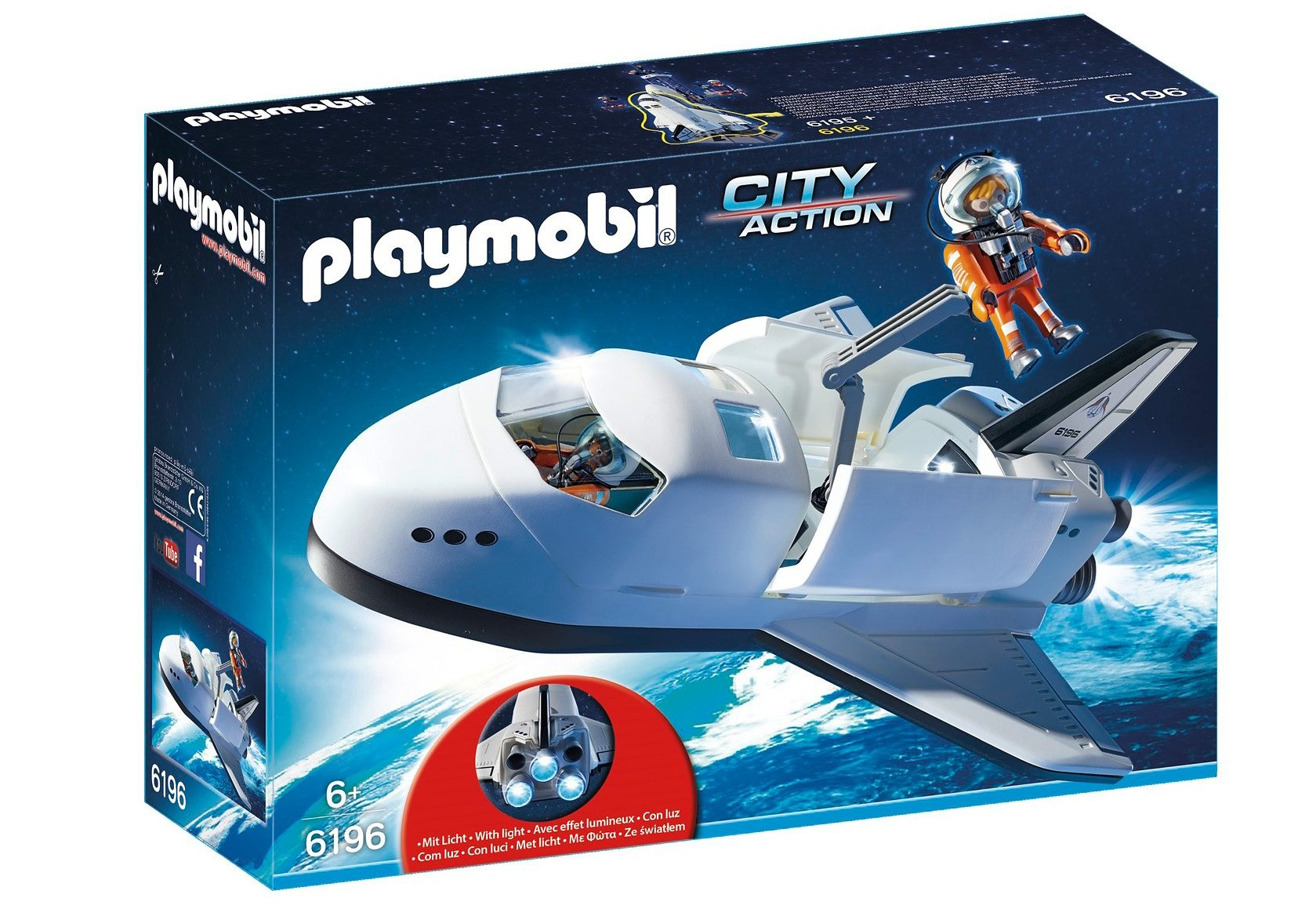 Playmobil® Space Shuttle (6196), City Action
