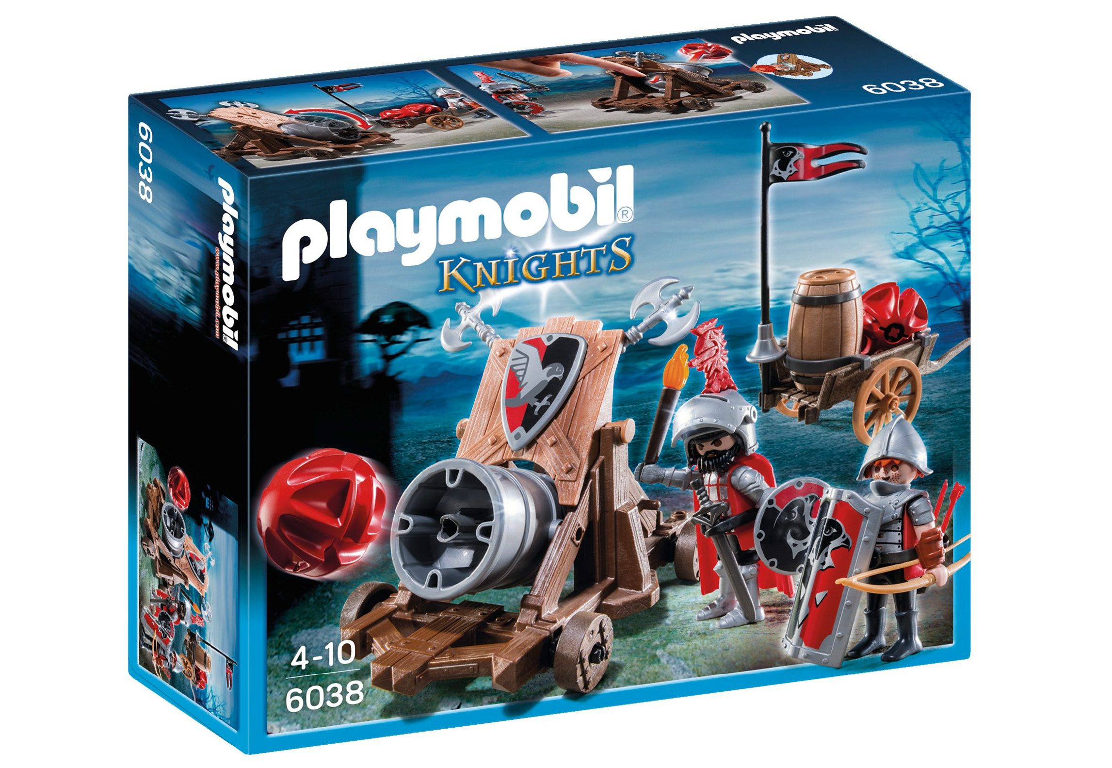 Playmobil® Riesenkanone der Falkenritter (6038), Knights