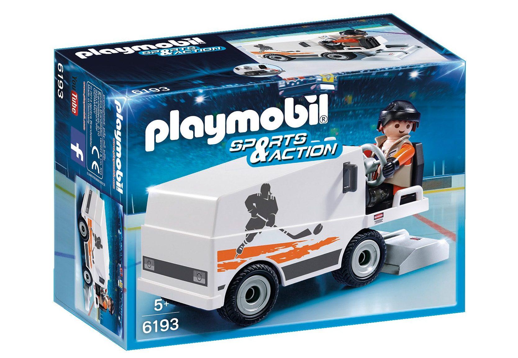 Playmobil® Eisbearbeitungsmaschine (6193), Sport & Action
