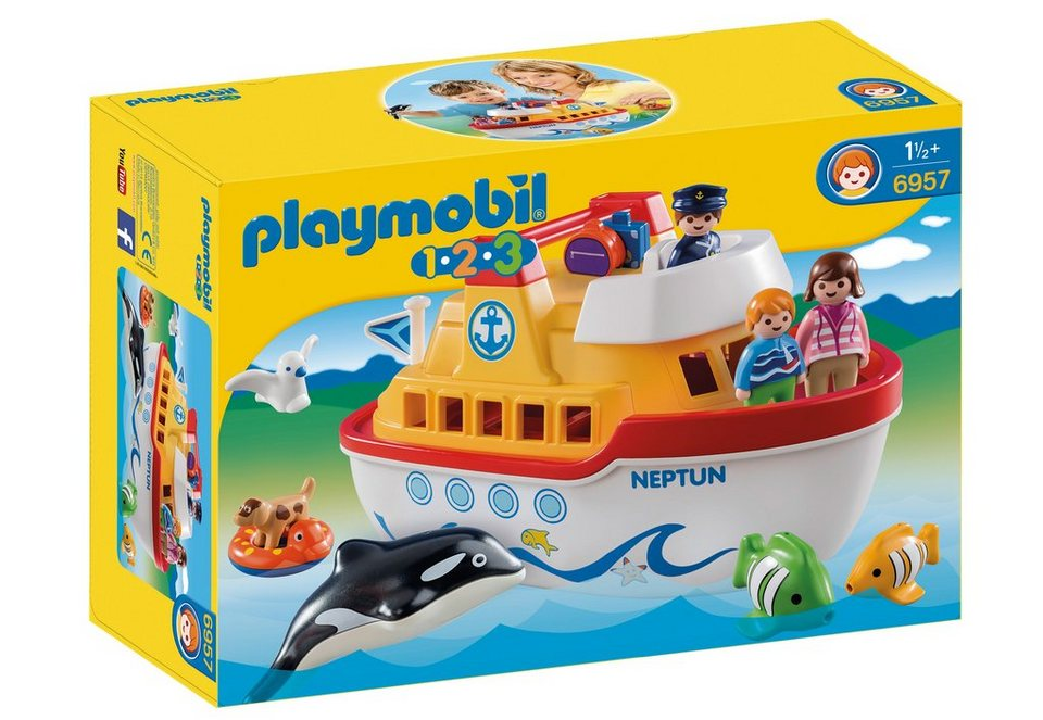 Playmobil® Mein Schiff zum Mitnehmen (6957), Playmobil 123