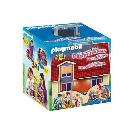 Playmobil® Neues Mitnehm-Puppenhaus (5167), Dollhouse