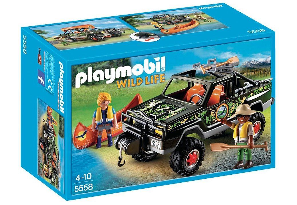 Playmobil® Abenteuer-Pickup (5558), Wild Life
